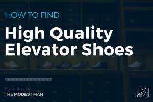 Buying elevator shoes