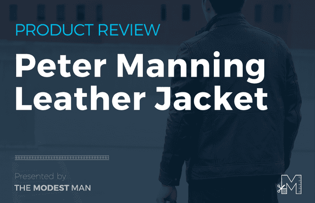 Peter Manning Lambskin Leather Jacket Review