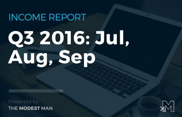 Q3 2016 Income Report