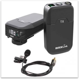 RodeLink Wireless lav mic