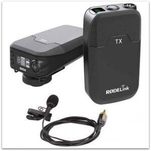 RodeLink Wireless lav mic