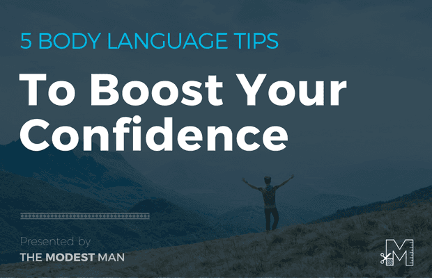 Body language tips for short men