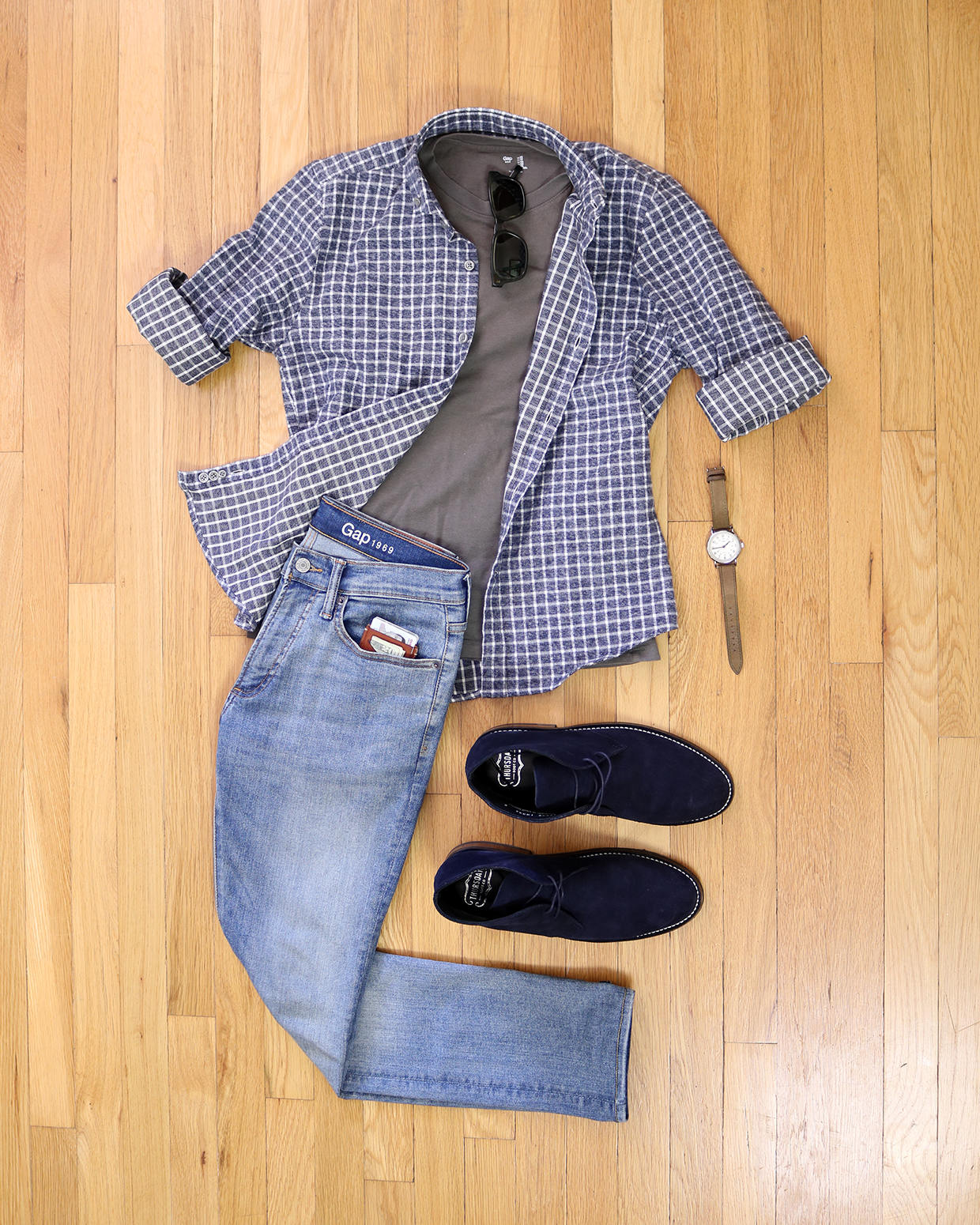Casual chukka outfit