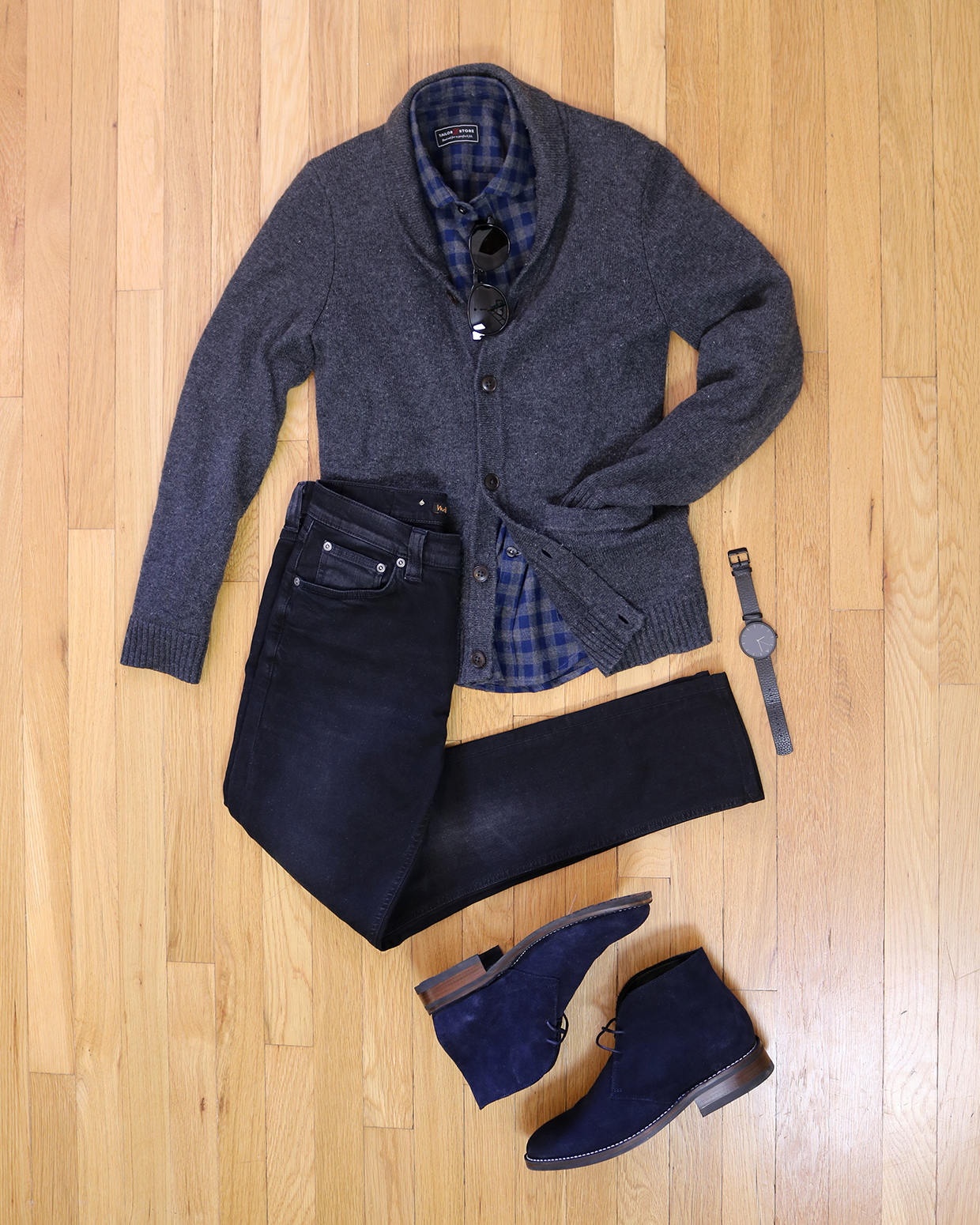 Smart casual chukka outfit