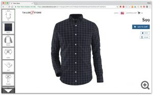 Tailor Store shirt designer
