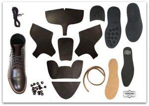 Thursday Boots construction materials