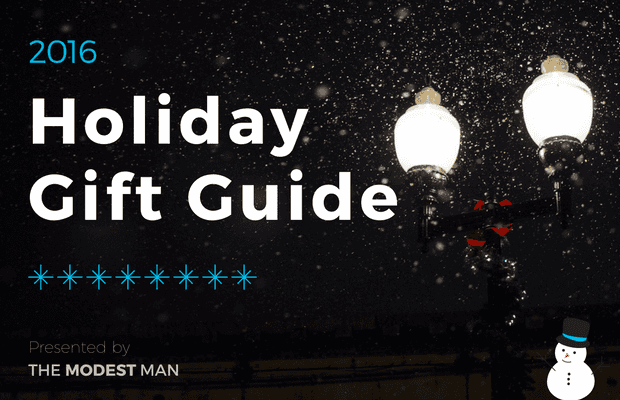 2016 Holiday Gift Guide for Modest Men