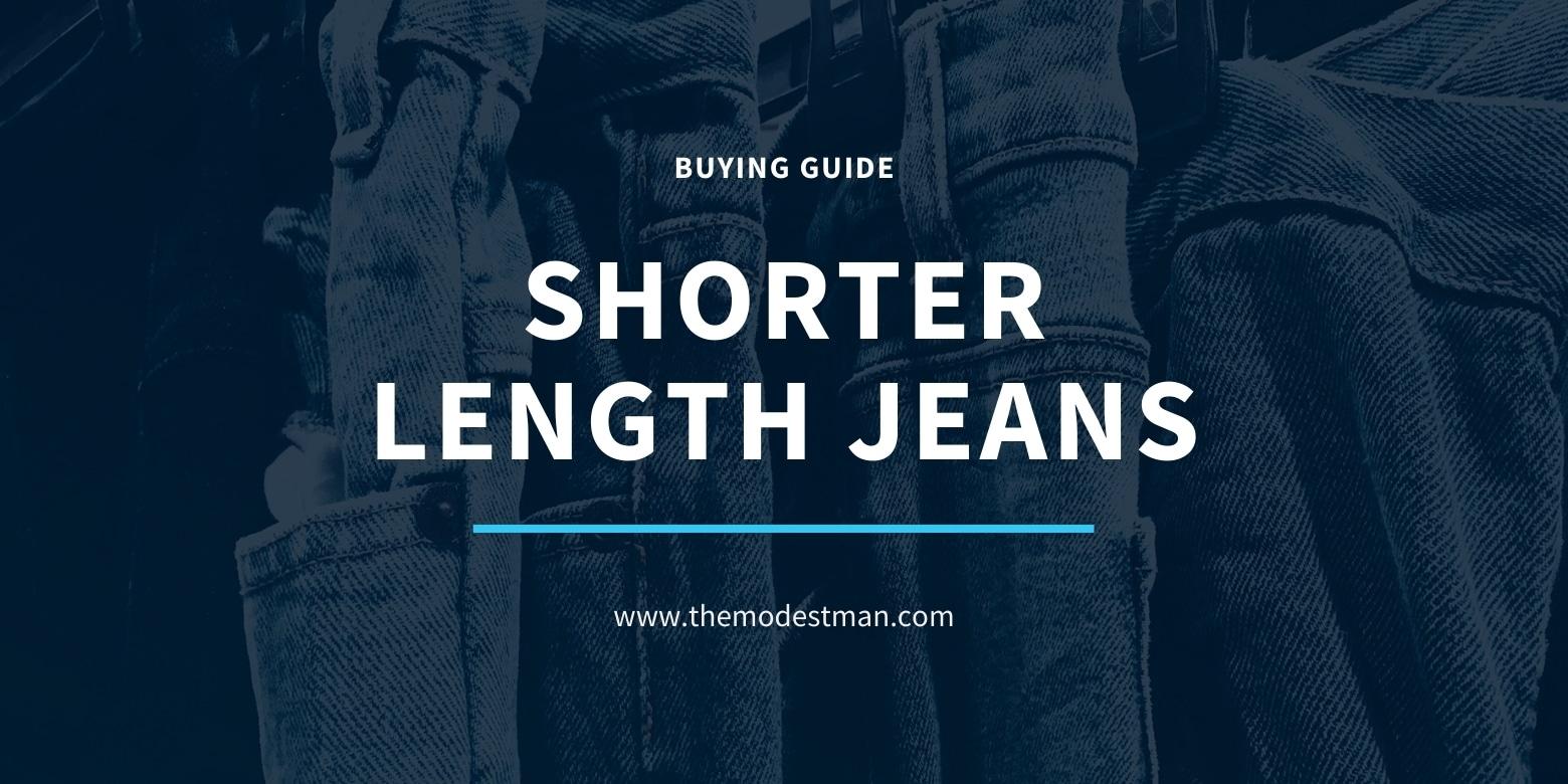 Short Inseam Jeans