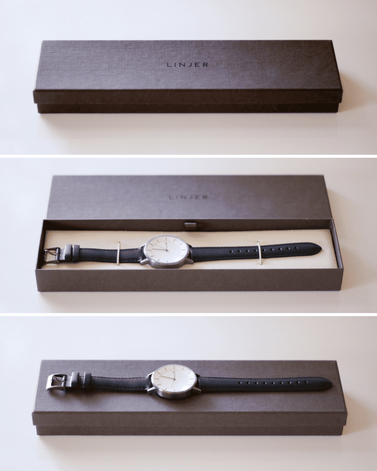 Unboxing the Linjer watch