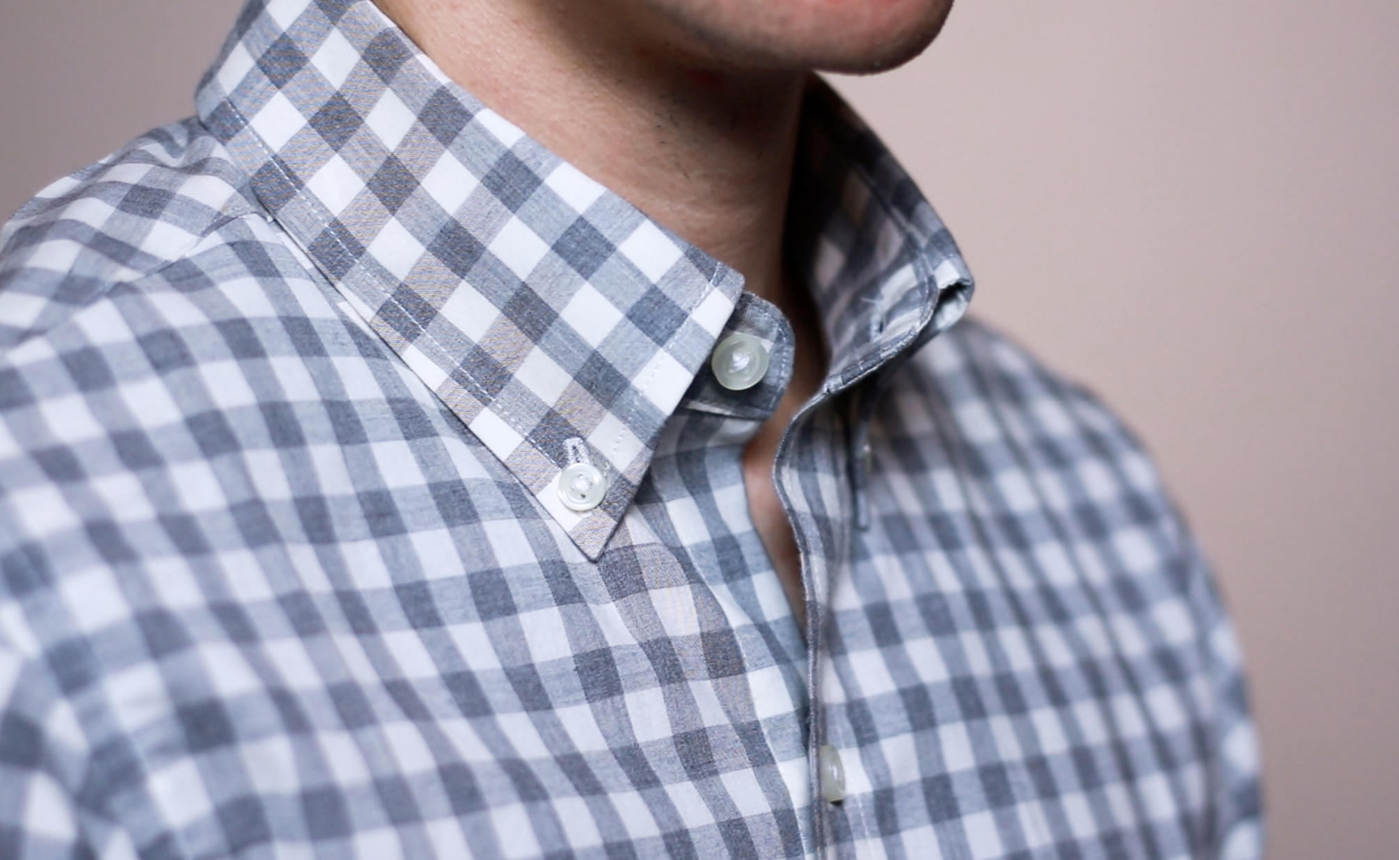 Button down shirt collar