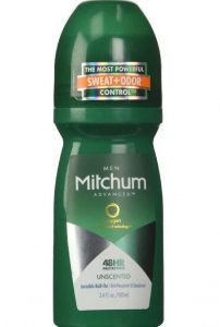 Mitchum unscented roll on
