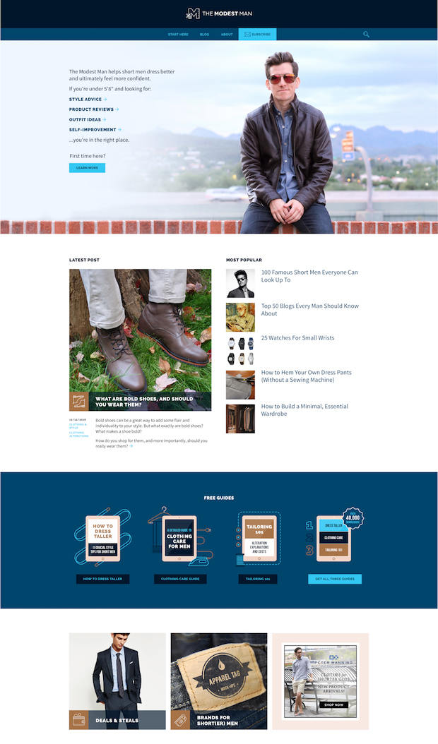 TMM new website preview