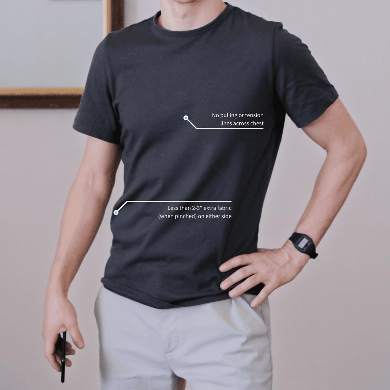 T-shirt fit torso