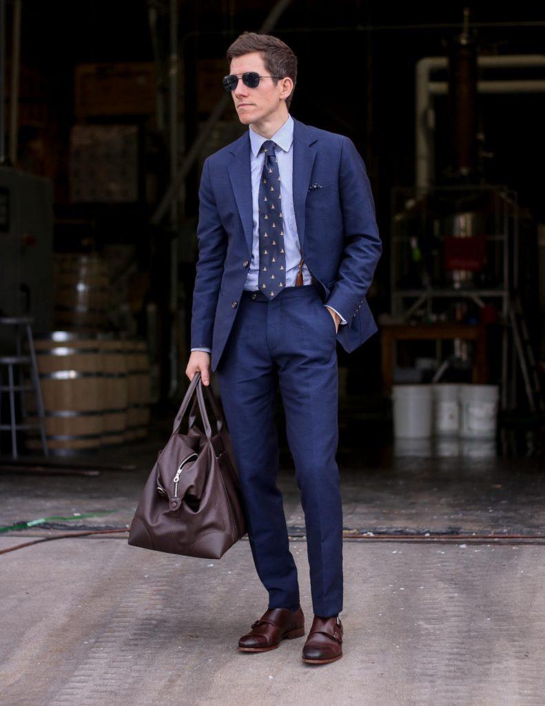 Oliver Wicks summer blue suit 2
