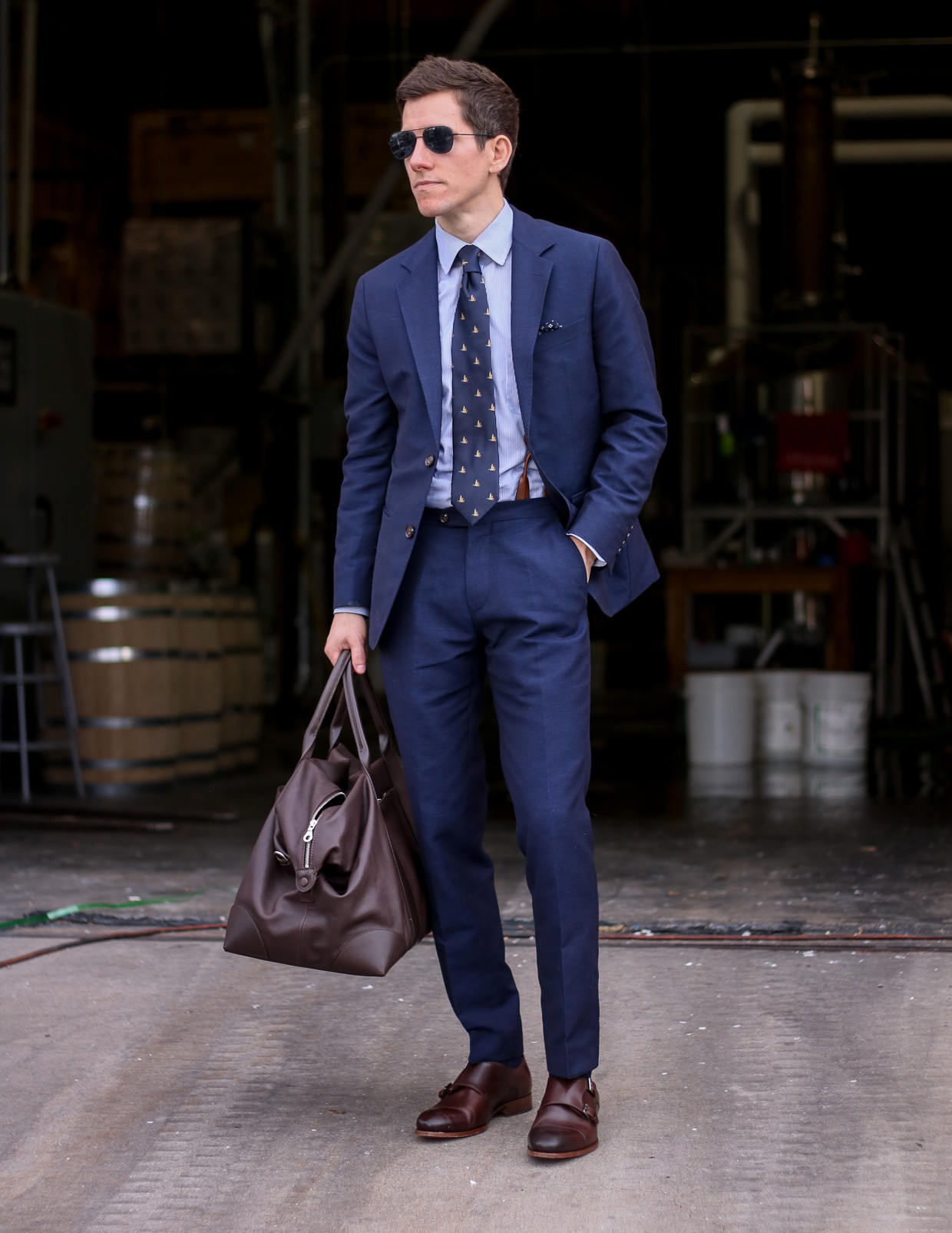 Oliver Wicks summer blue suit 2