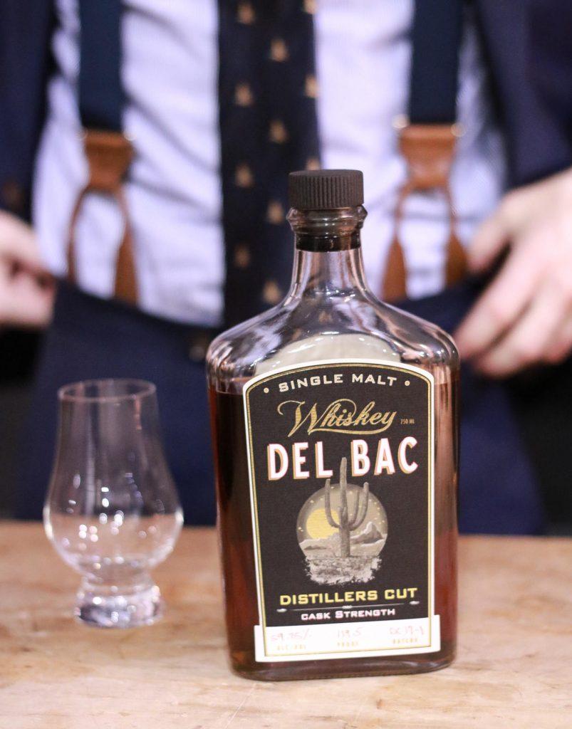 Single malt Whiskey Del Bac