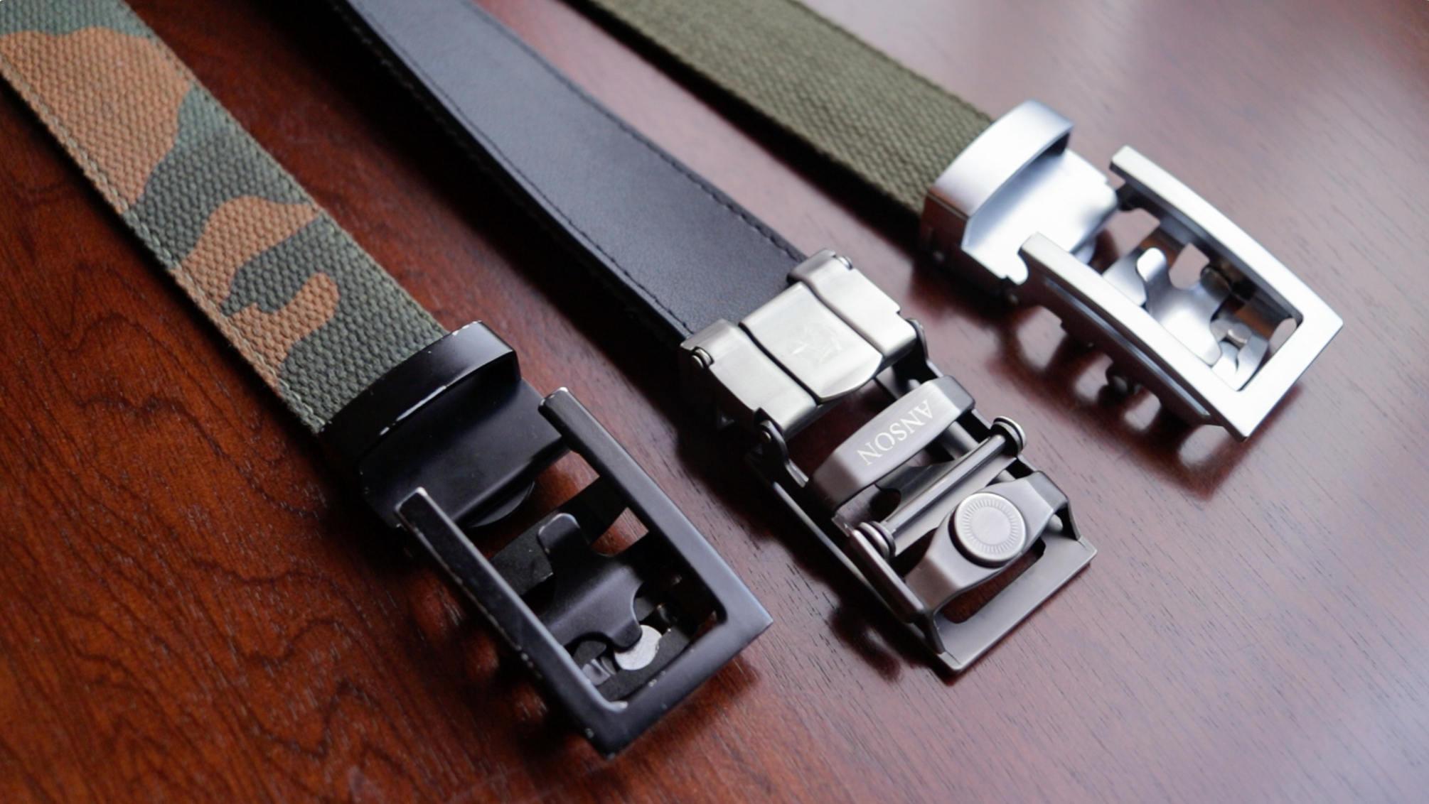 Anson belts canvas