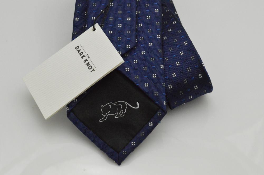 Blue The Dark Knot tie