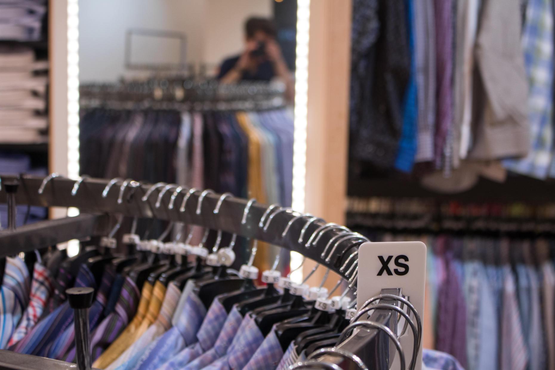 Jimmy Au's XS shirts