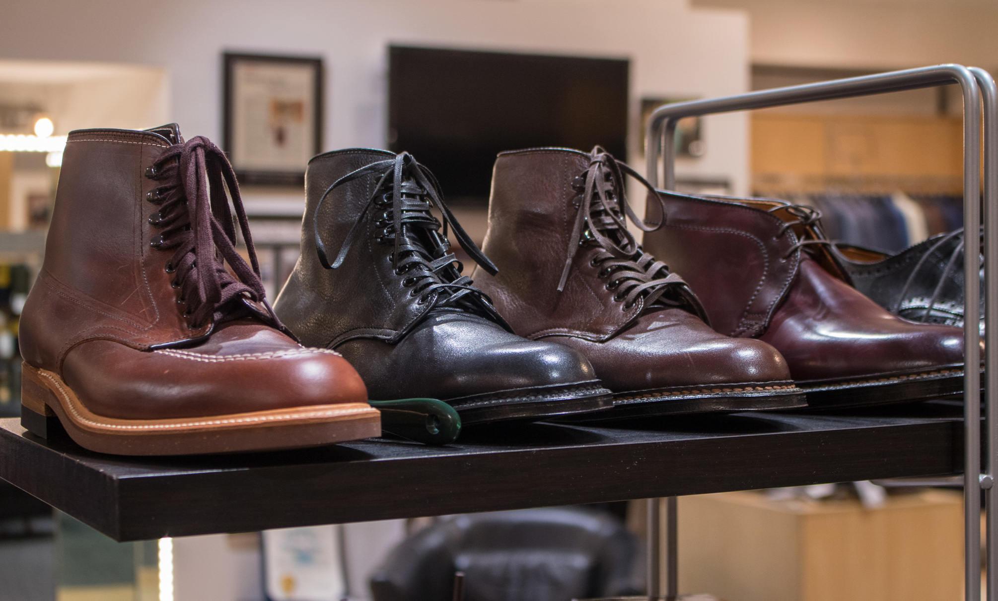 Jimmy Au's Alden boots