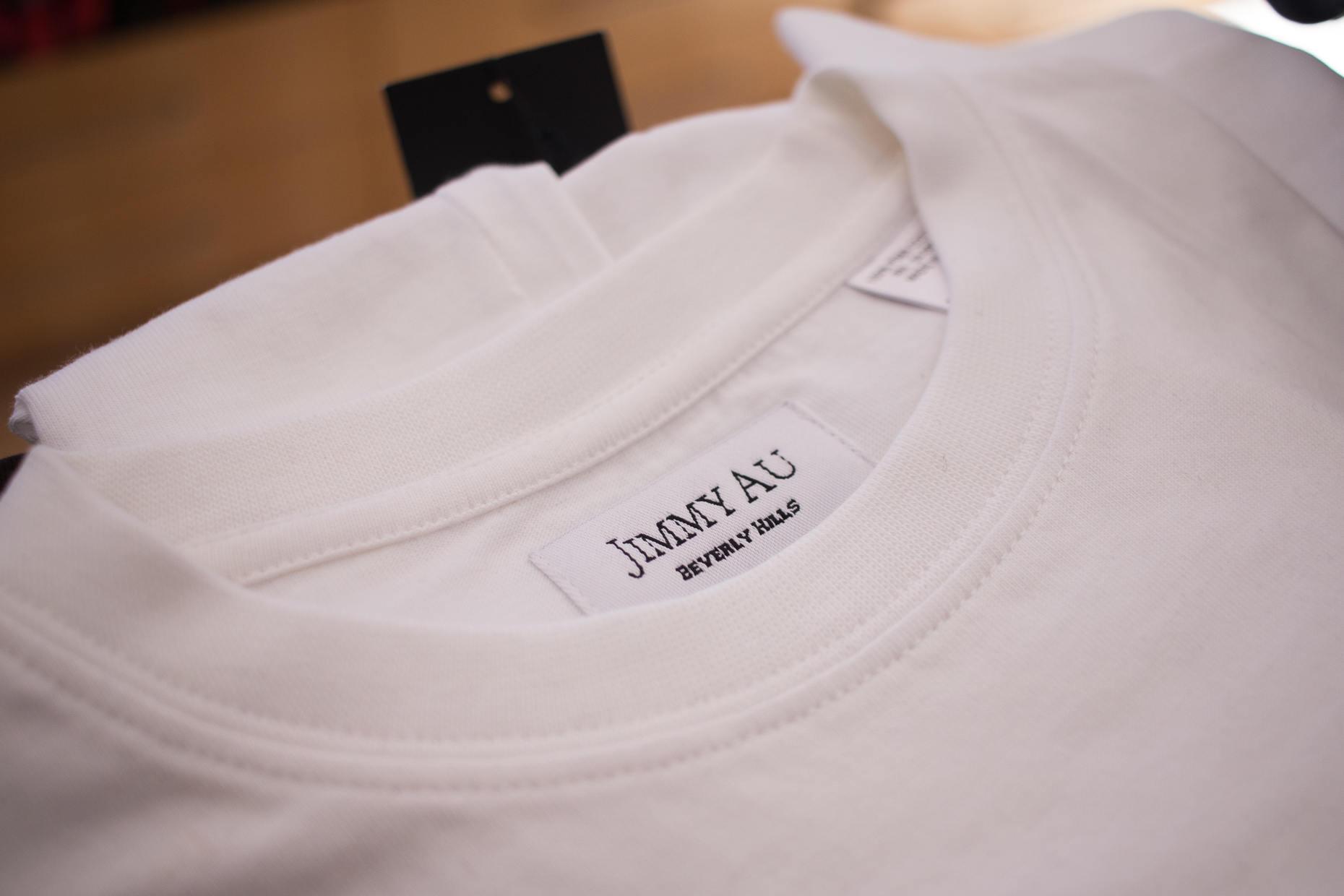Jimmy Au's t-shirt