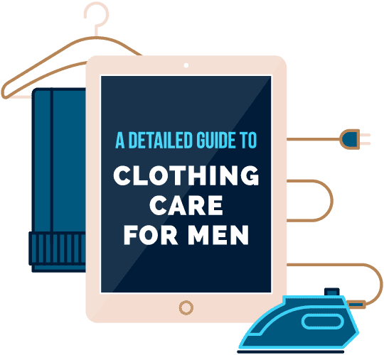 A detailed guide to clothing care for men