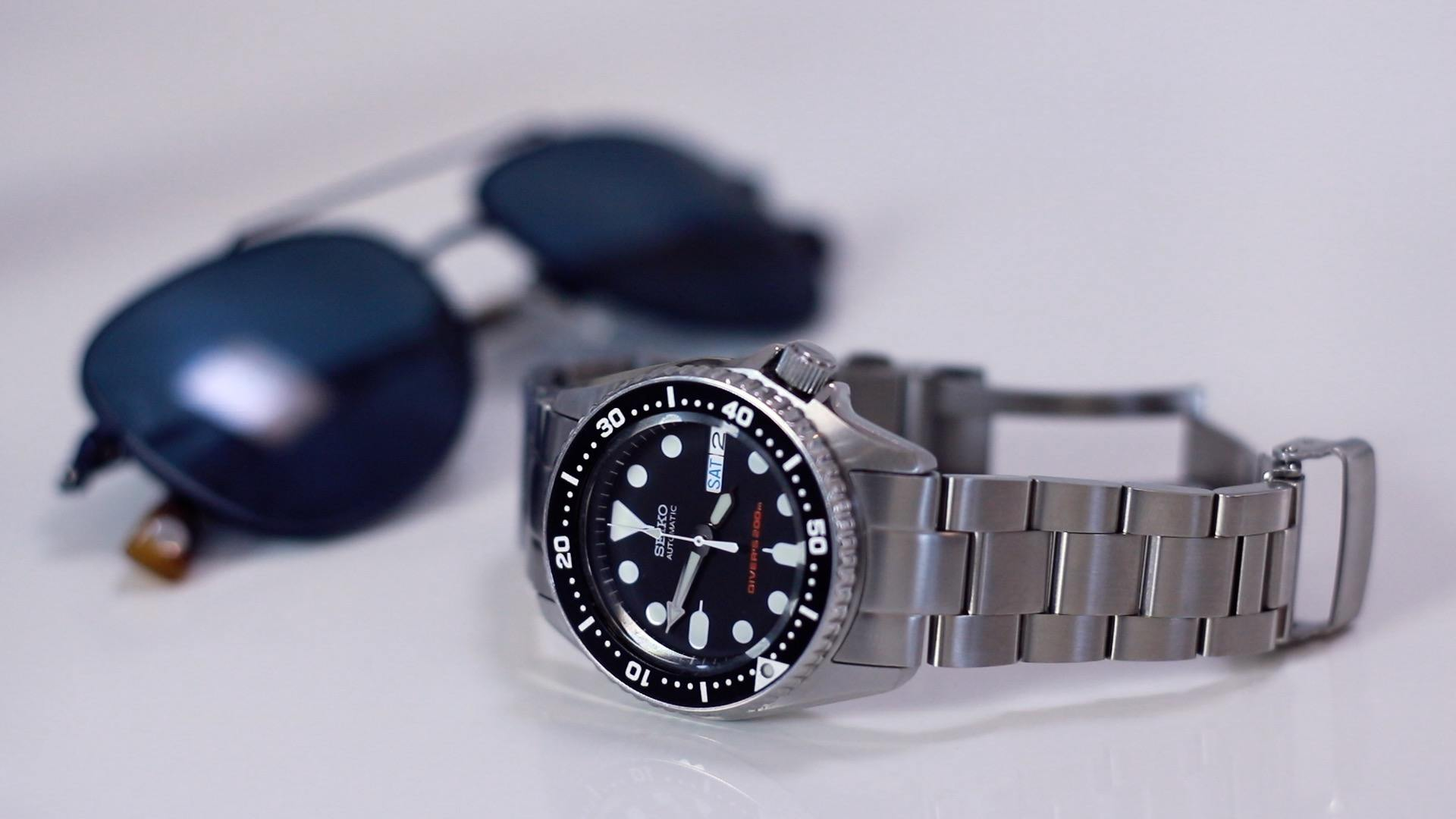 SKX013 and Warby Parker sunglasses