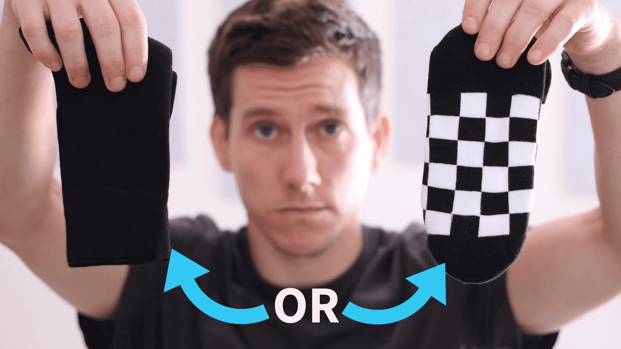 Should you wear bold socks