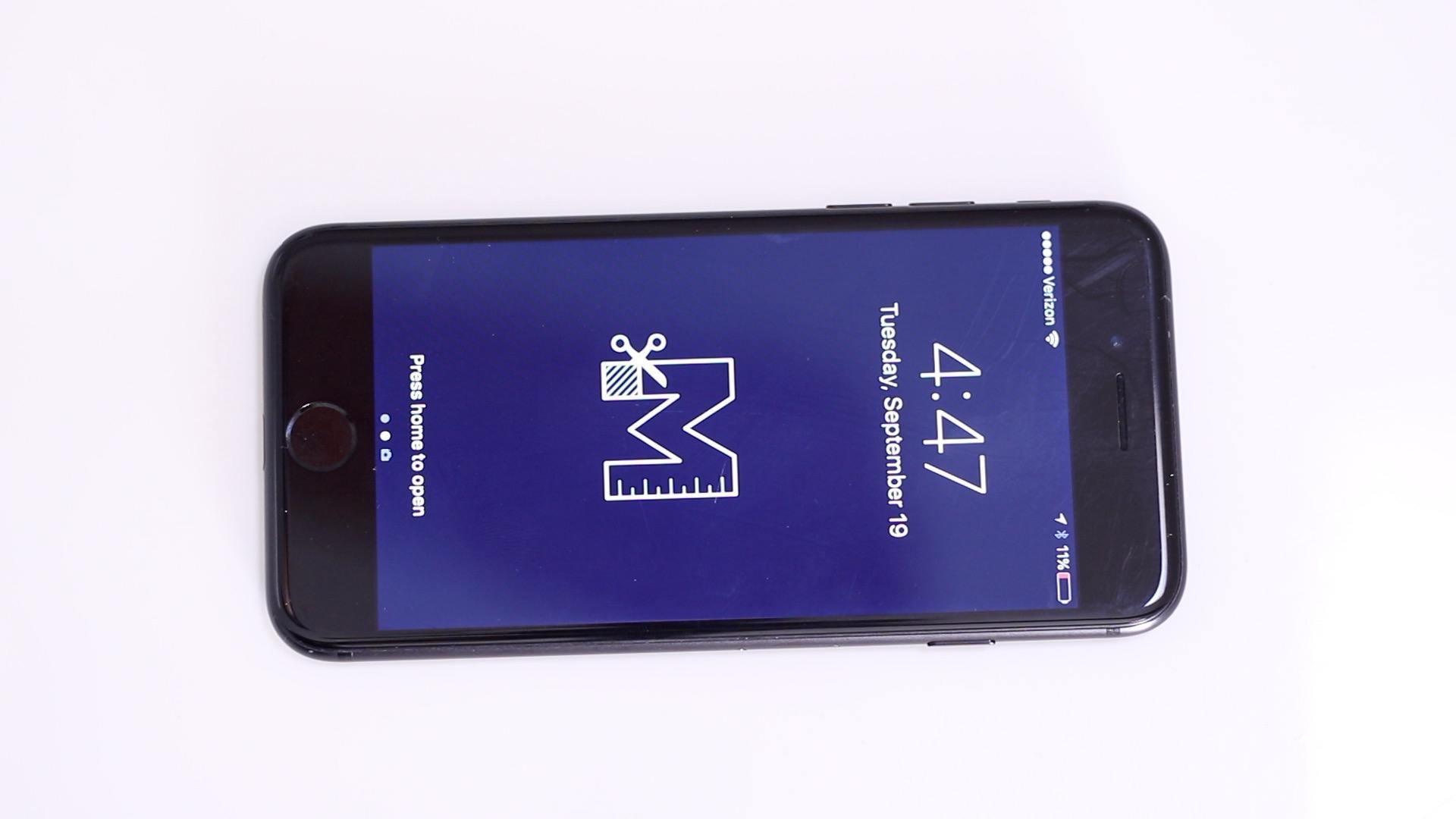 iPhone 7 128 GB Black_front