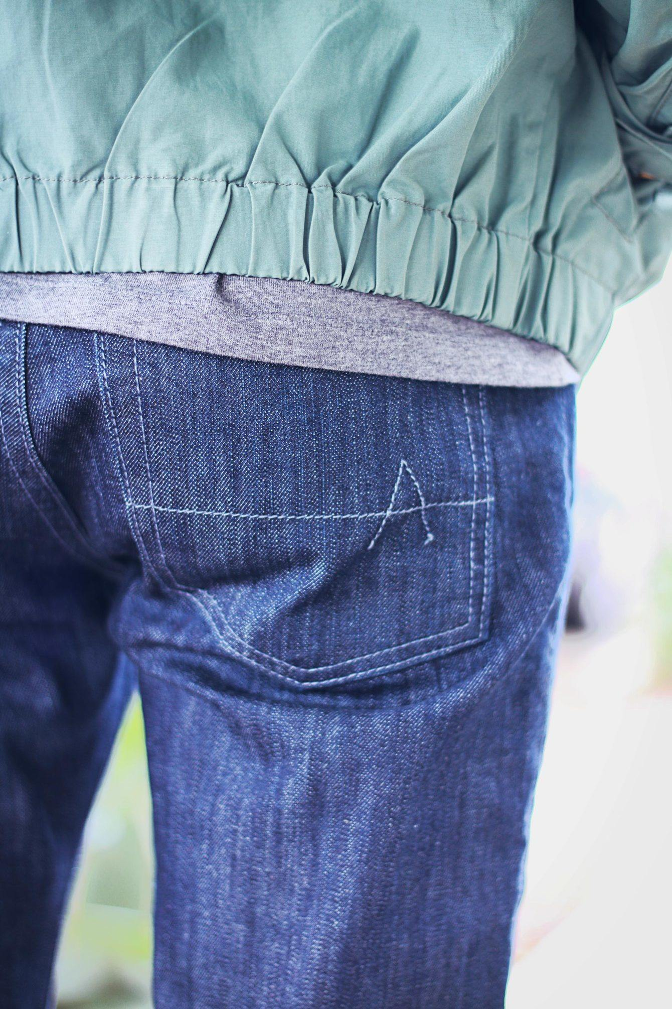 Ash and Erie jeans pocket
