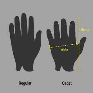 Cadet gloves vs regular gloves