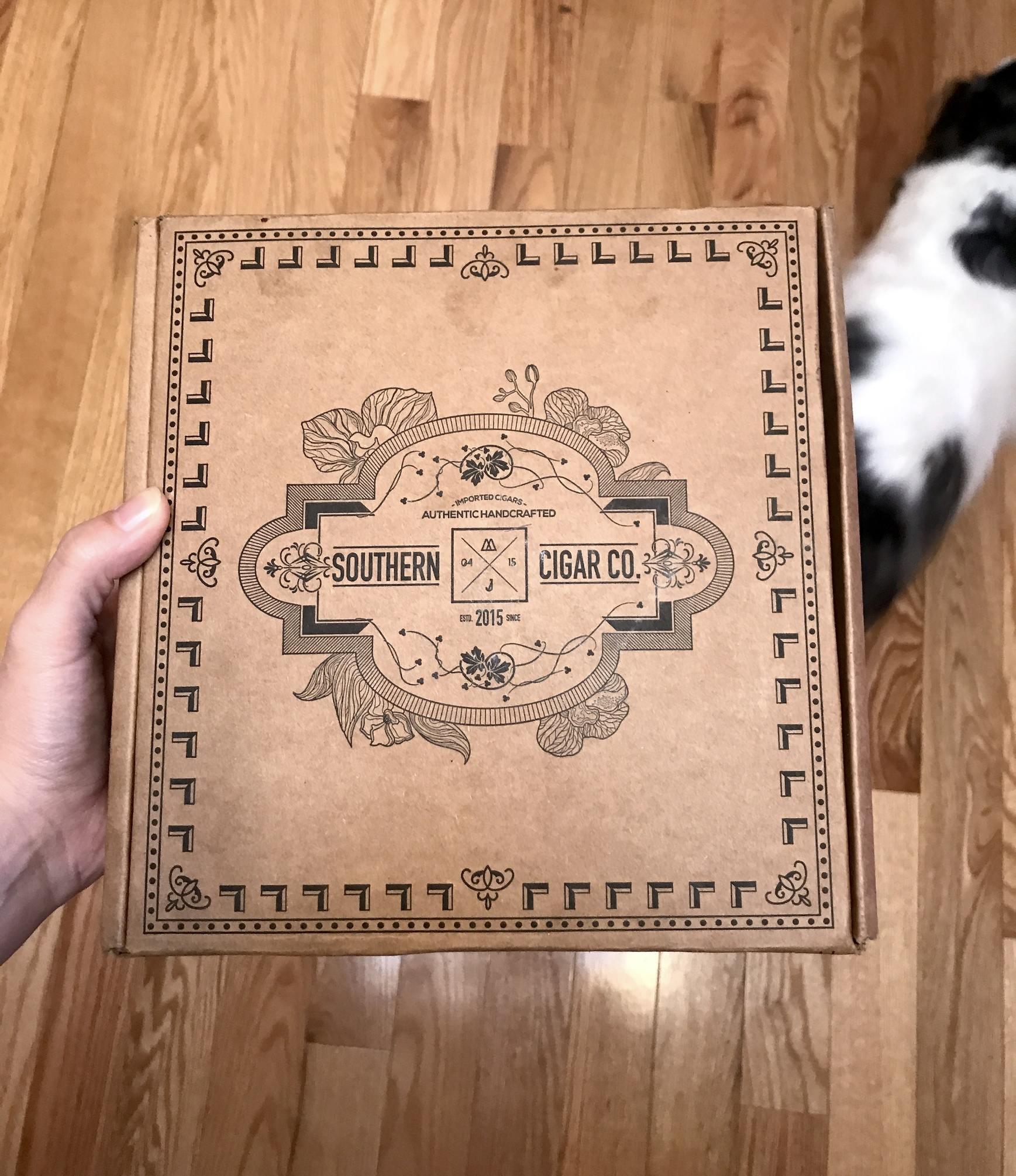 Southern Cigar box
