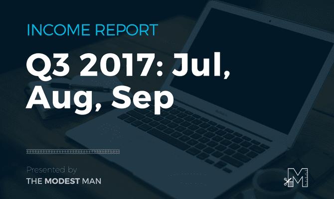 Income Report Q3 2017