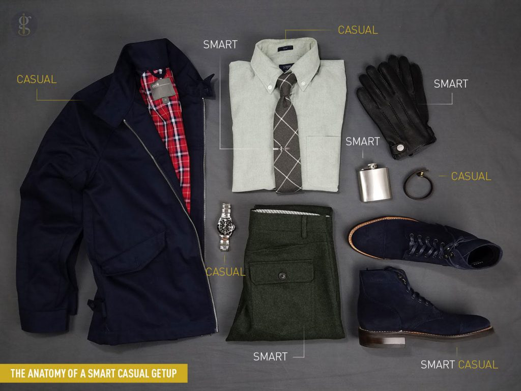 The Anatomy Of A Smart Casual Getup