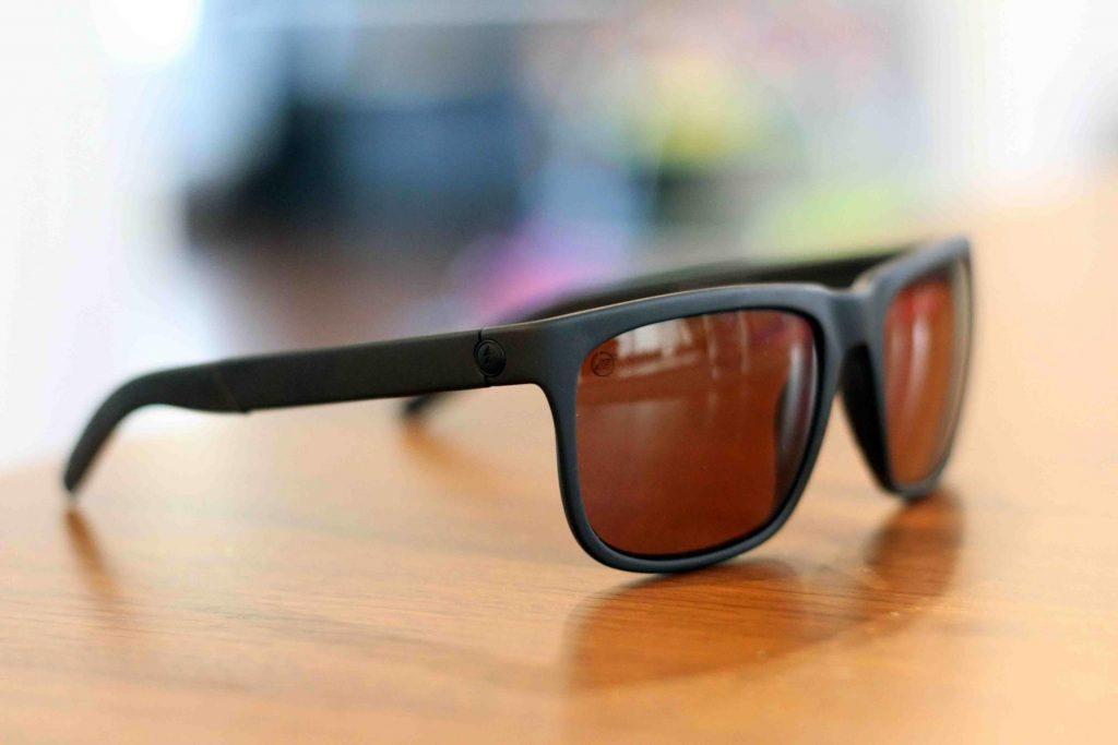Sunglasses on table