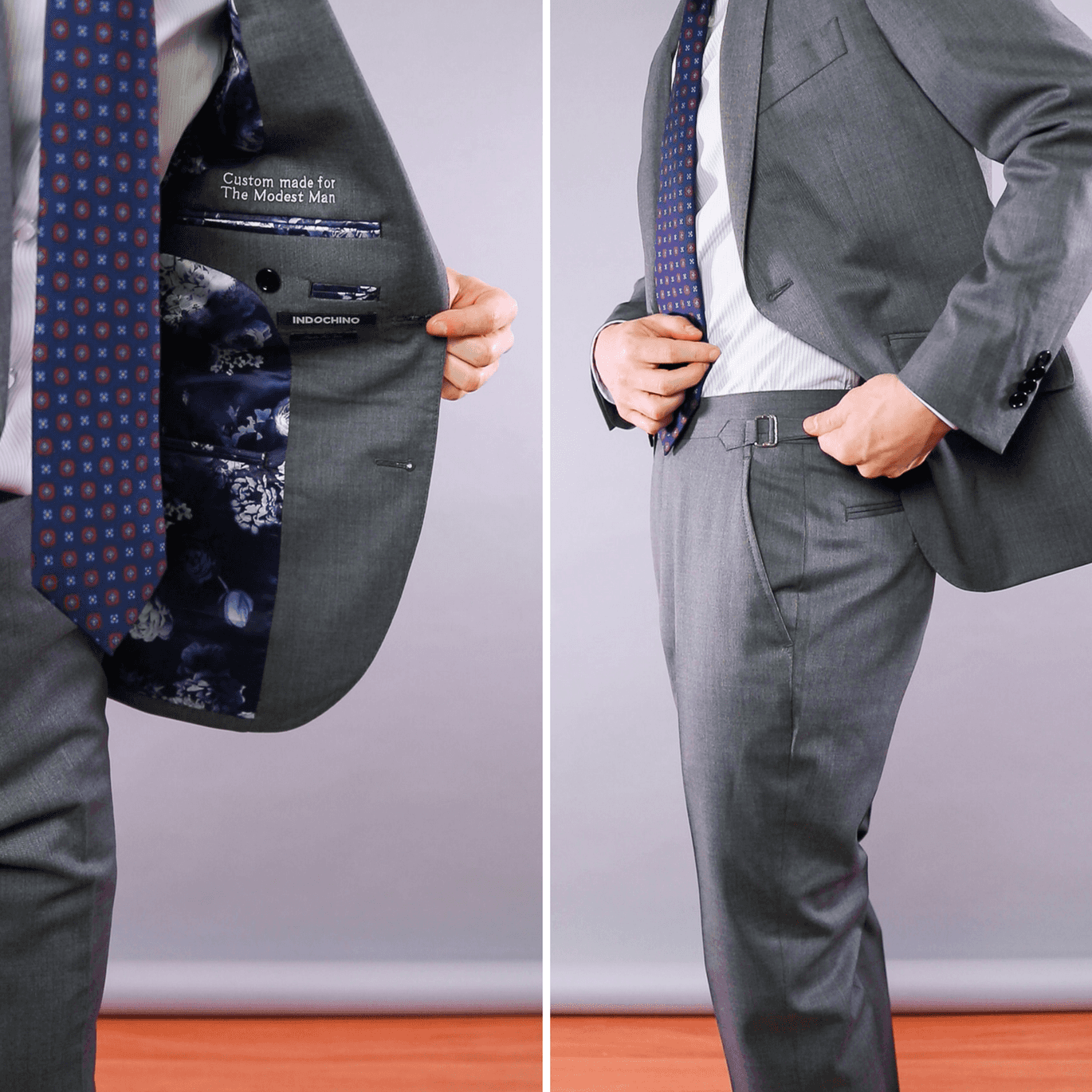 Jacket lining and side adjusters