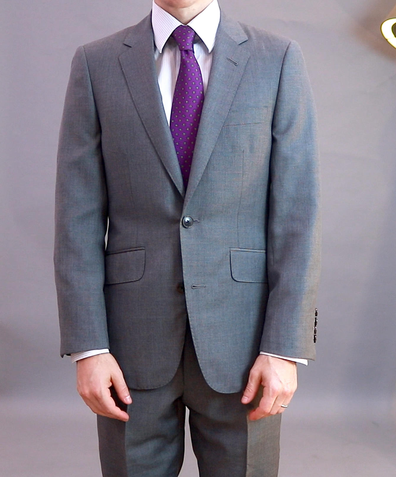 Alan David bespoke suit