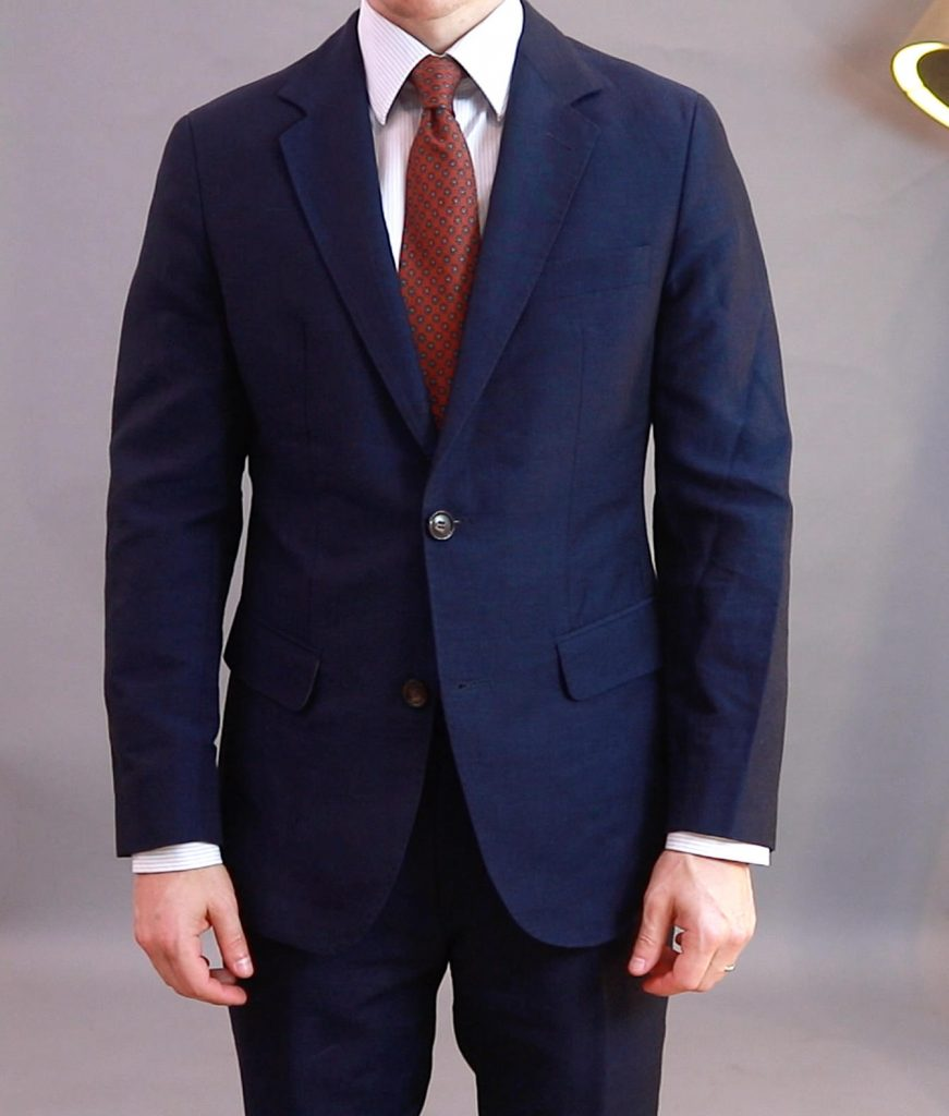 "Oliver Wicks made-to-measure suit (unstructured ""soft shoulders"" jacket)"