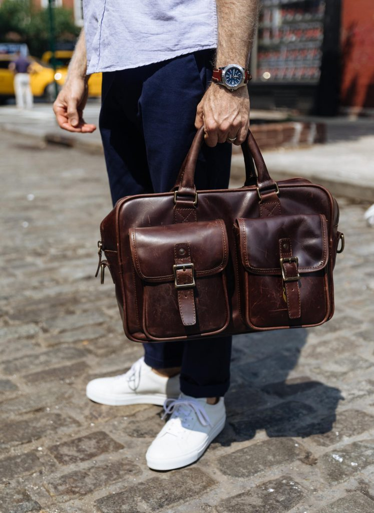 Rugged briefcase duffle