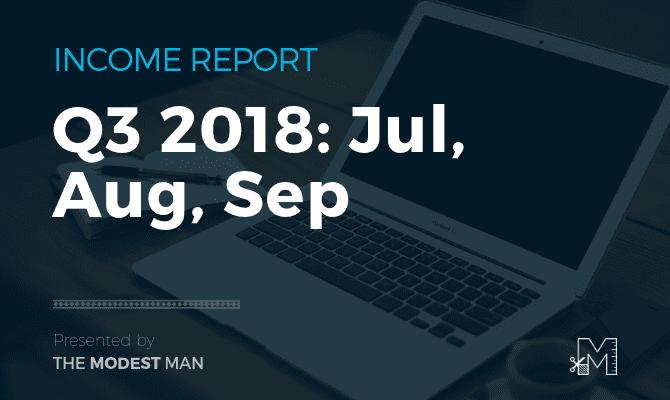 Income report Q3 2018