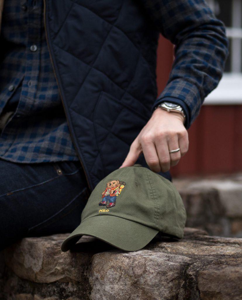 Polo hiking bear hat