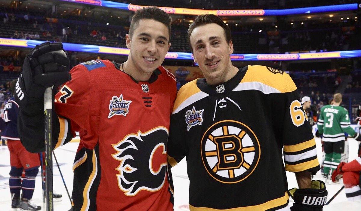 Gaudreau and Marchand