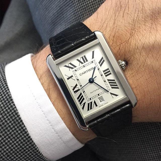 Cartier Tank Dress Watch