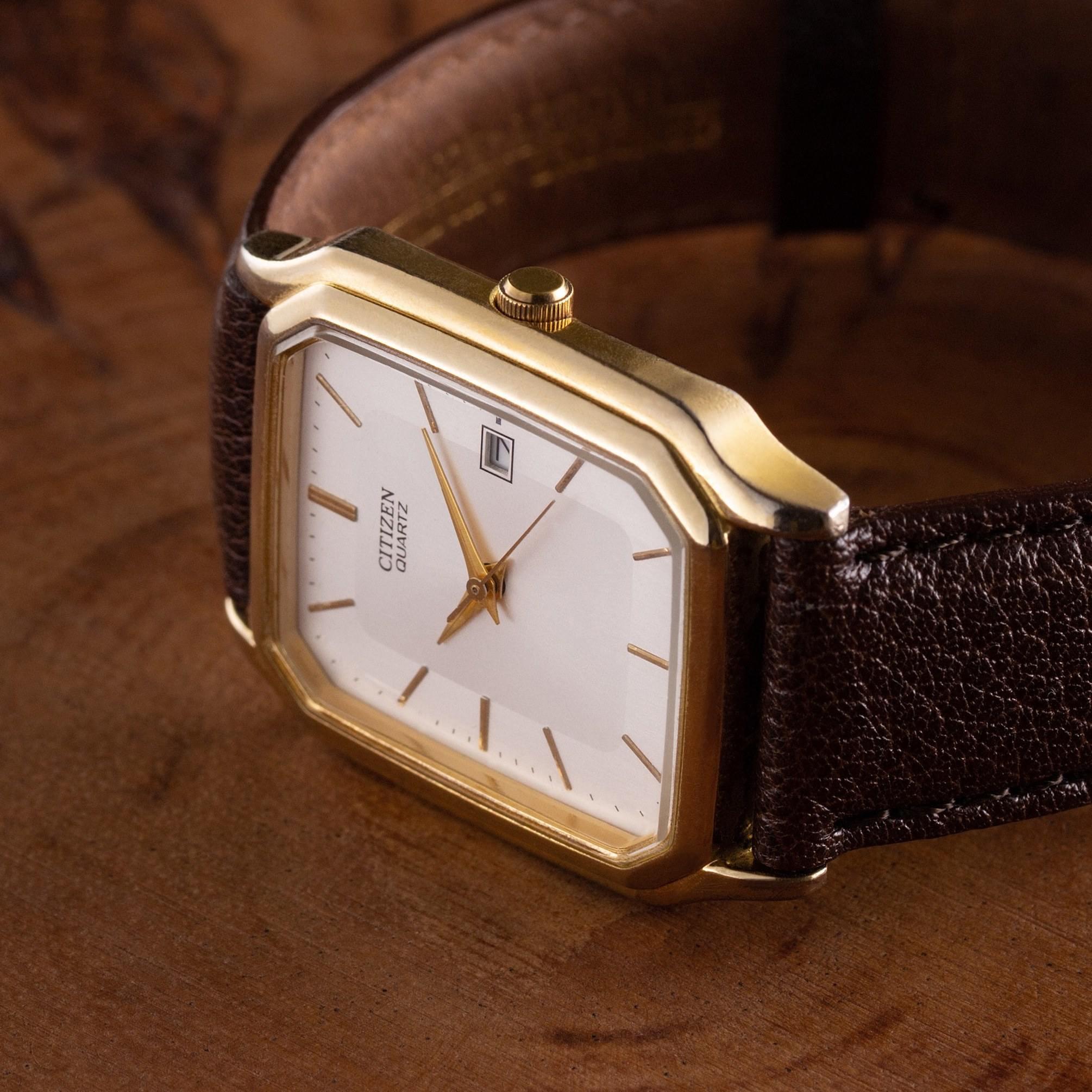 Citizen quartz dress watch - The Modest Man - crop