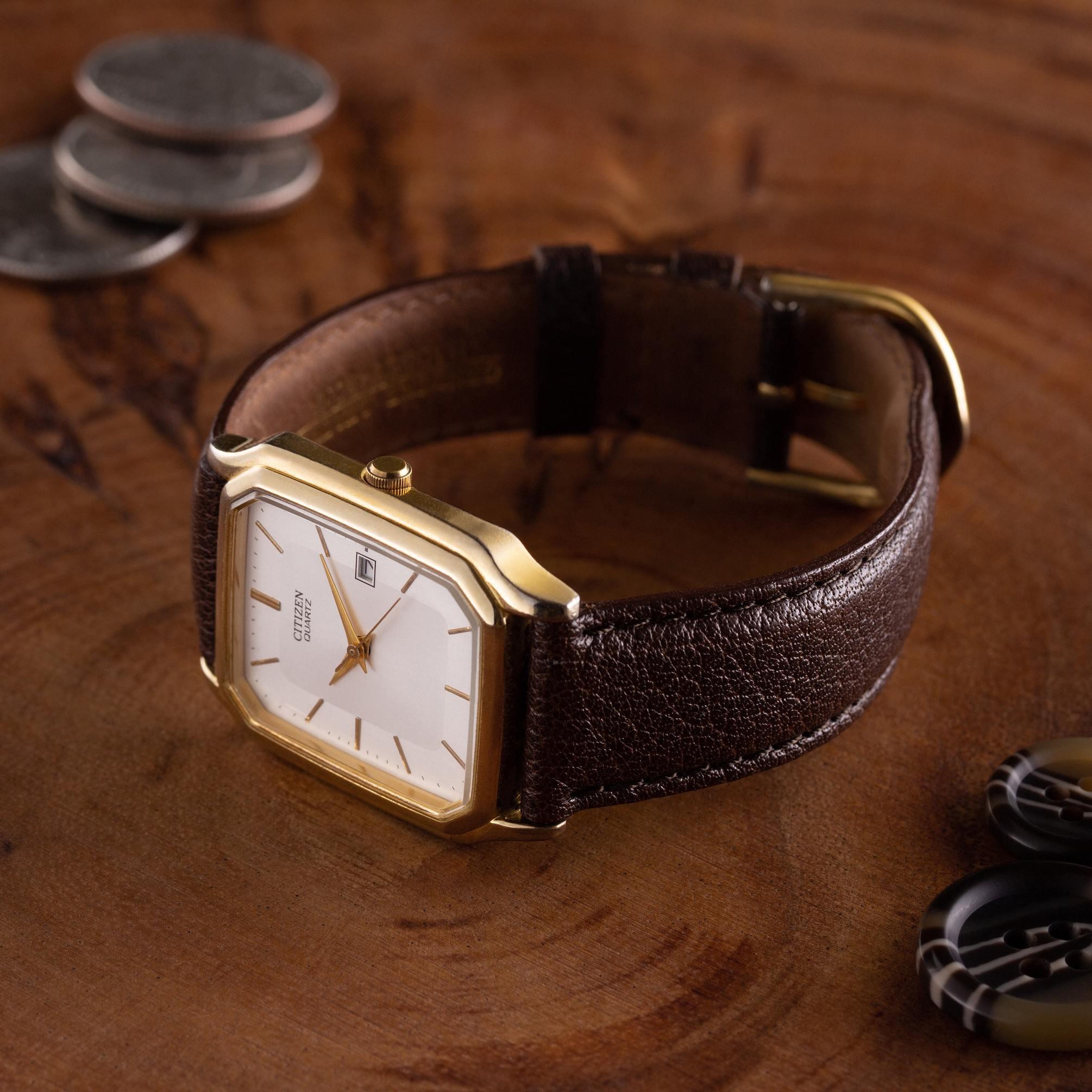 Citizen quartz dress watch - The Modest Man