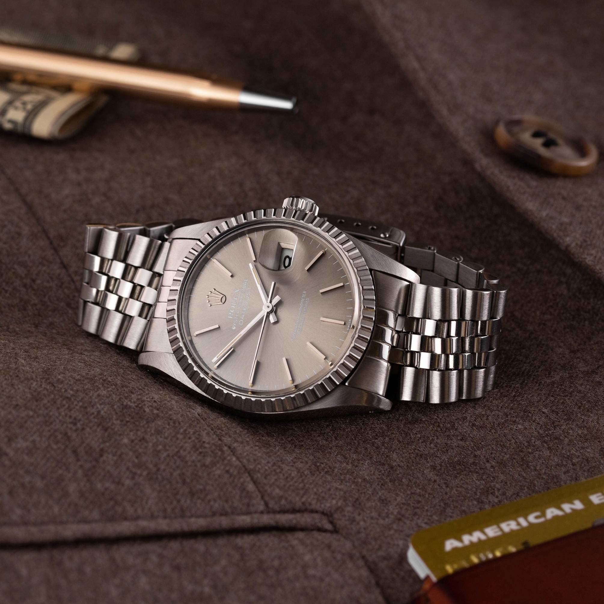 Rolex Datejust 16030 taupe dial - The Modest Man