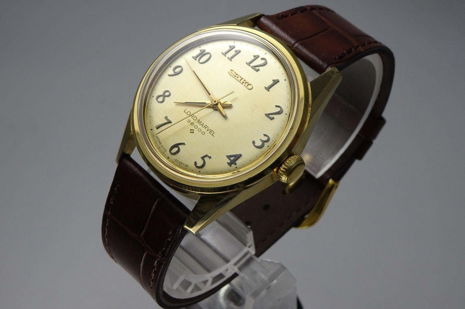 Vintage 1978 JAPAN SEIKO LORD MARVEL 36000 5740-8000