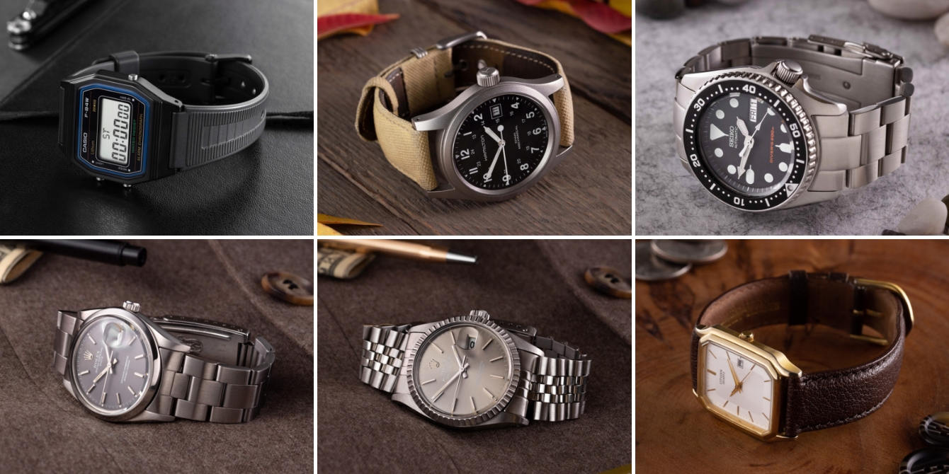 The Modest Man watch collection Jan 2019