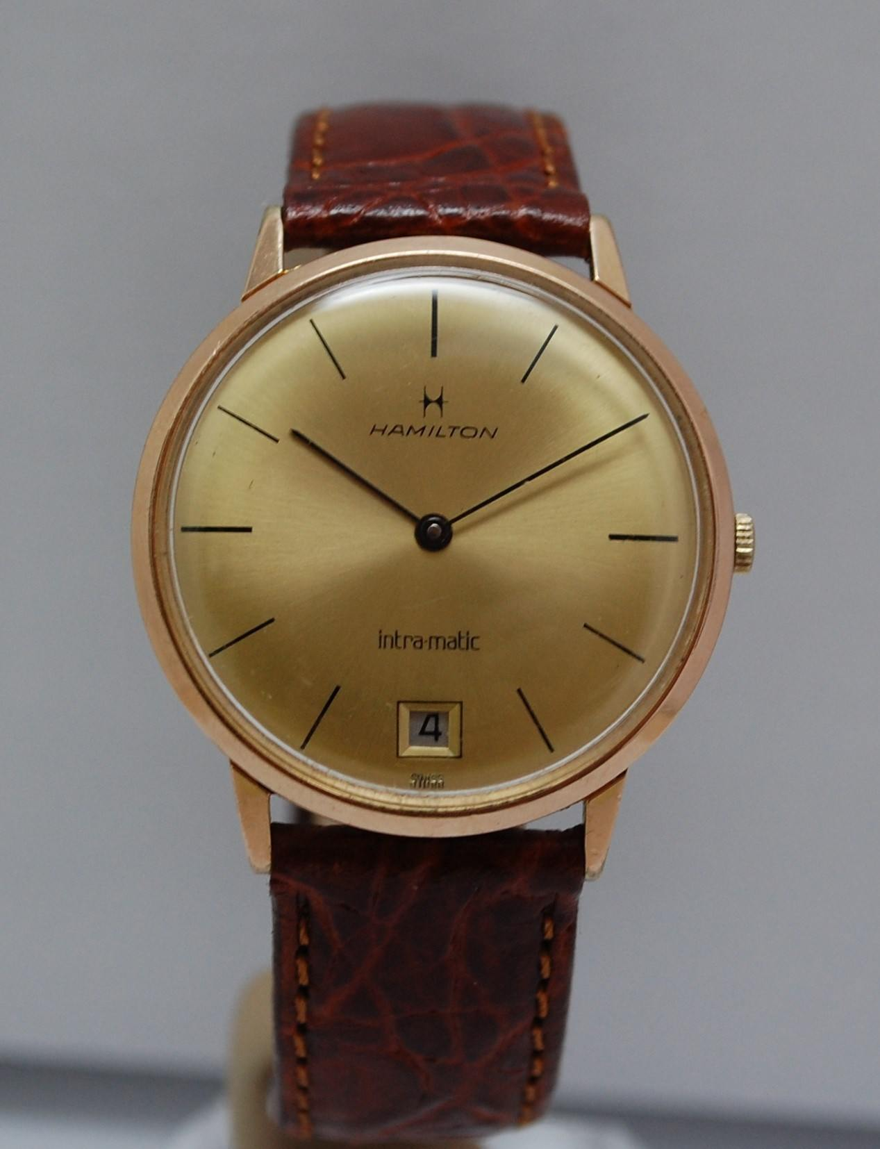 c1969 Hamilton Intra-Matic microrotor watch Year-1969