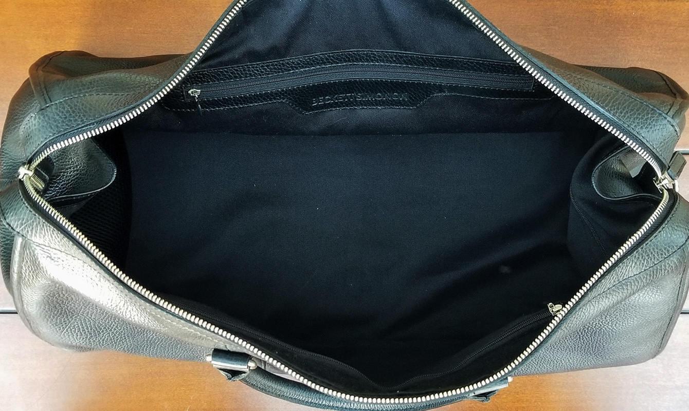 Beckett Simonon Davis Weekender Bag Interior